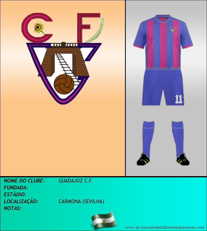 Escudo de GUADAJOZ C.F.