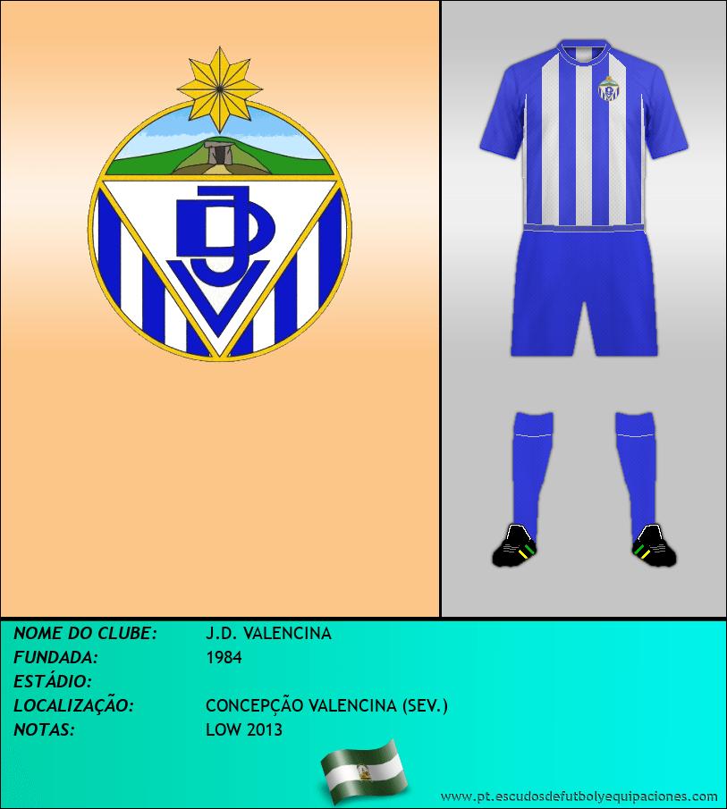 Escudo de J.D. VALENCINA