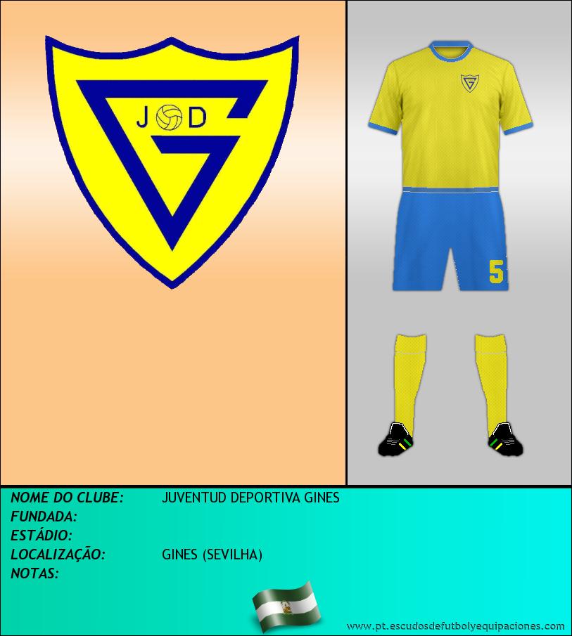 Escudo de JUVENTUD DEPORTIVA GINES