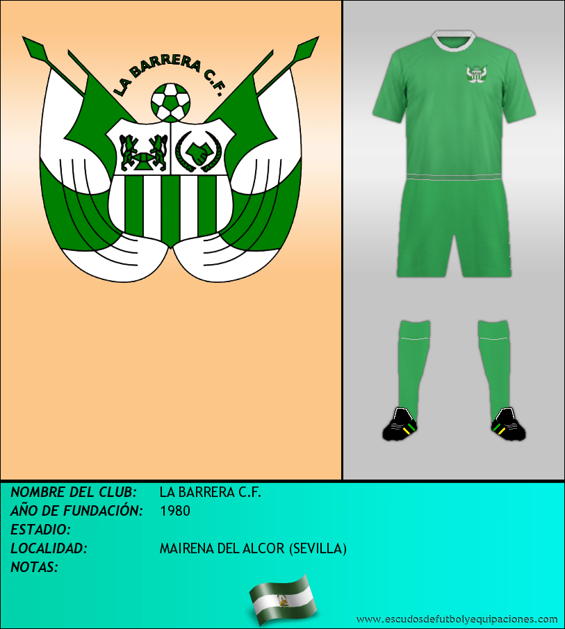 Escudo de LA BARRERA C.F.