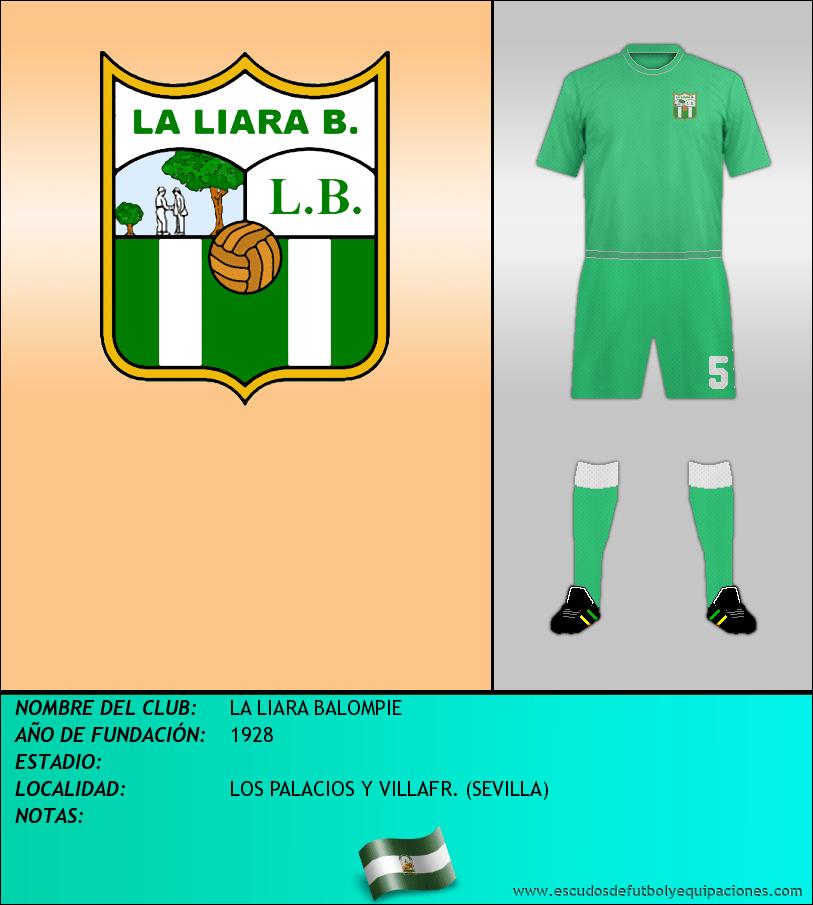Escudo de LA LIARA BALOMPIE