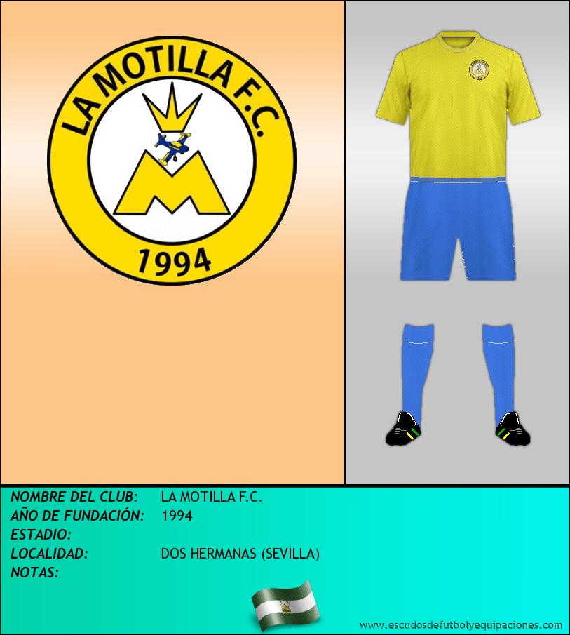 Escudo de LA MOTILLA F.C.