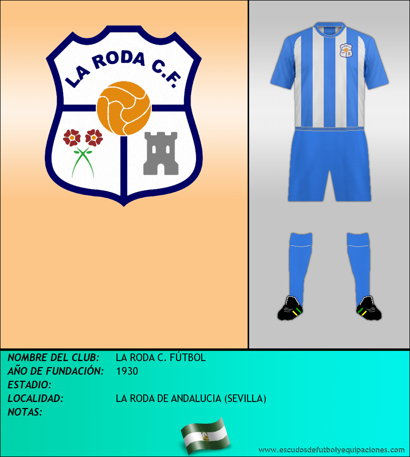 Escudo de LA RODA C. FÚTBOL
