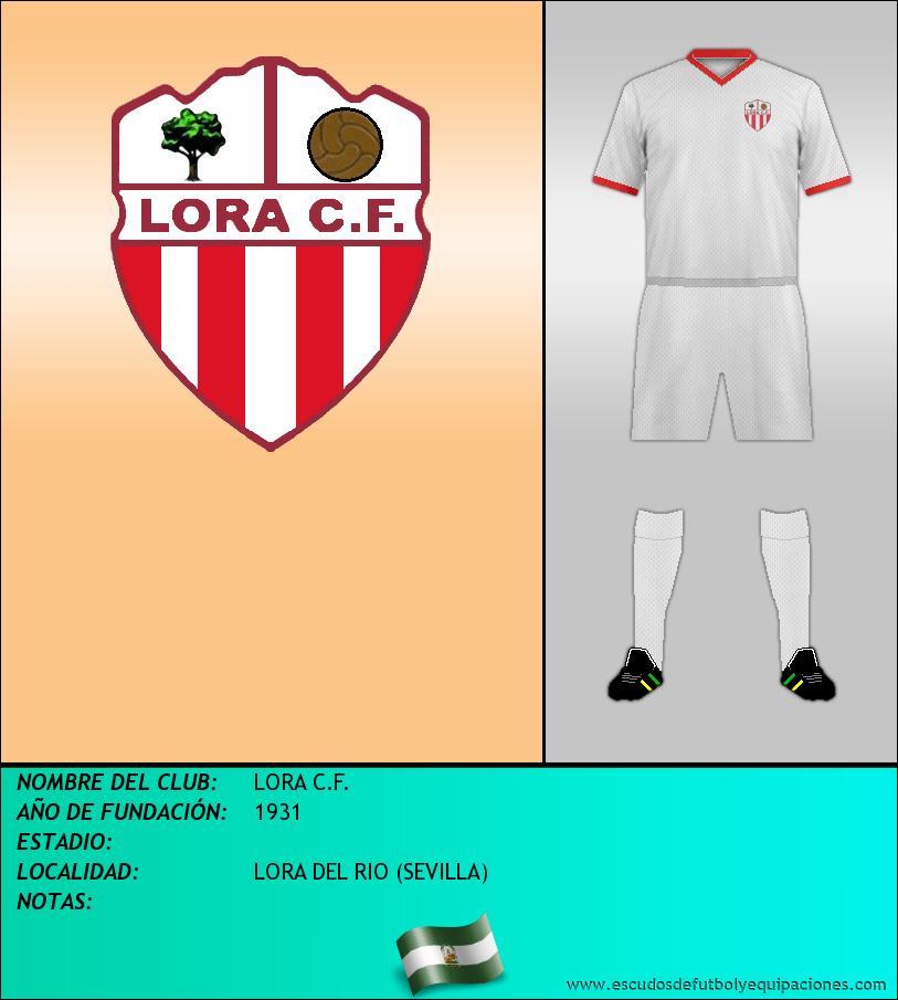 Escudo de LORA C.F.