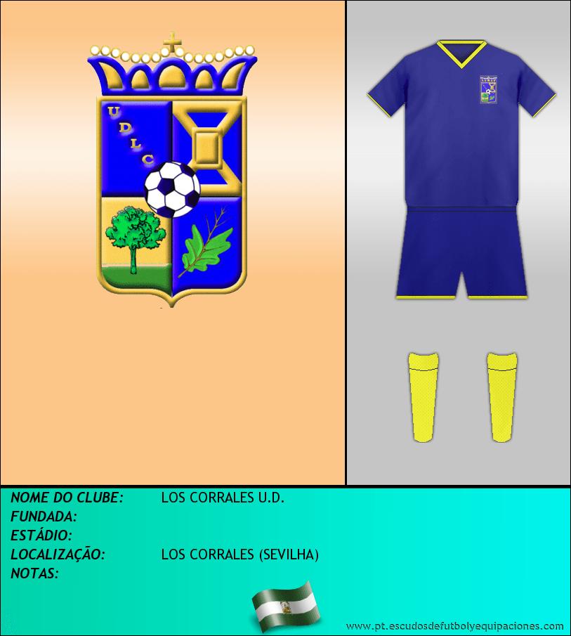 Escudo de LOS CORRALES U.D.