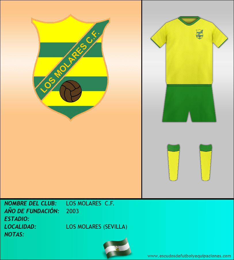 Escudo de LOS MOLARES  C.F.