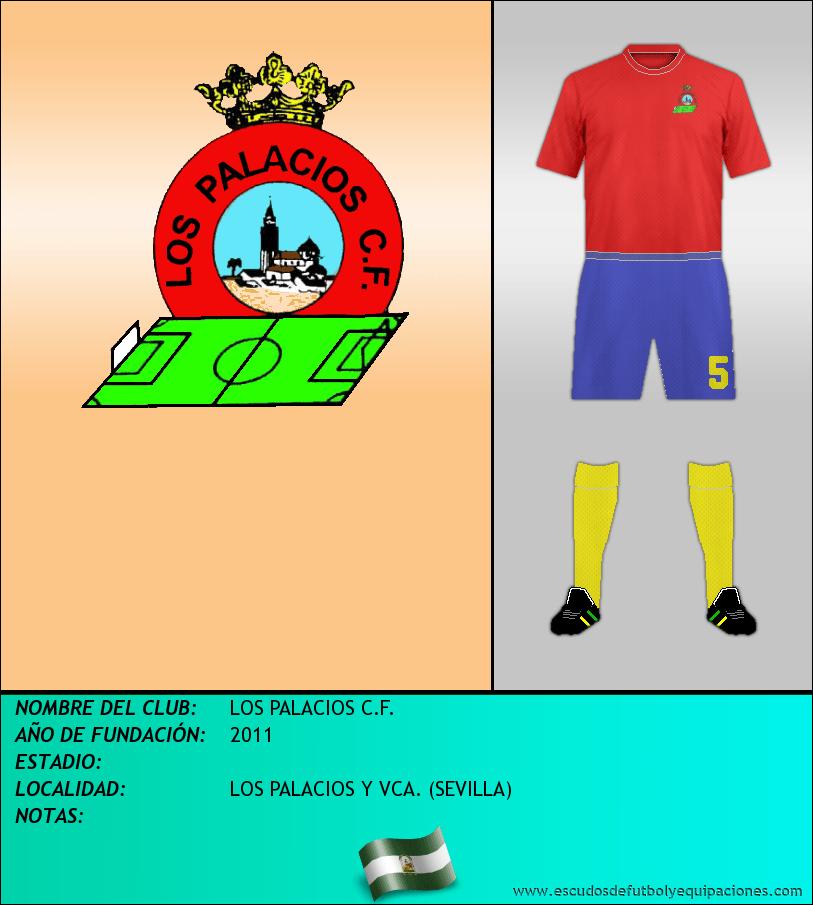 Escudo de LOS PALACIOS C.F.