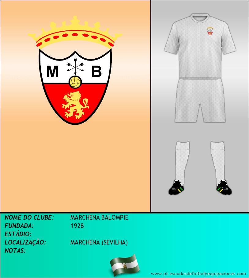 Escudo de MARCHENA BALOMPIE