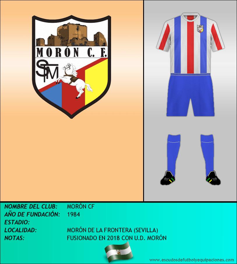 Escudo de MORÓN CF