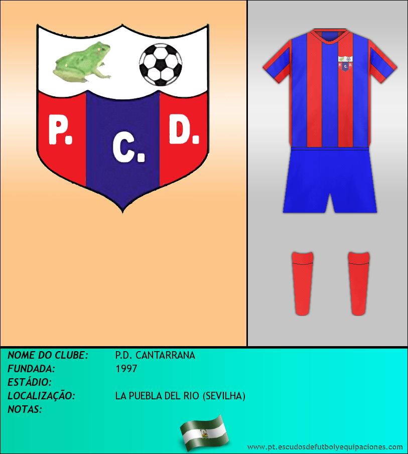 Escudo de P.D. CANTARRANA