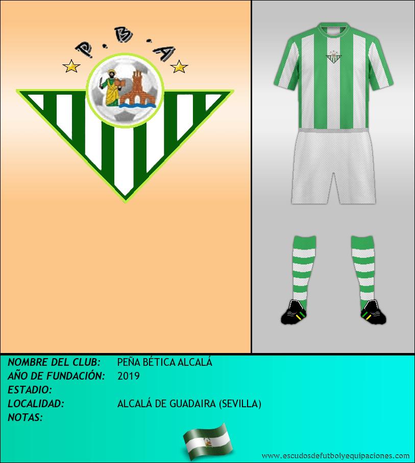 Escudo de PEÑA BÉTICA ALCALÁ