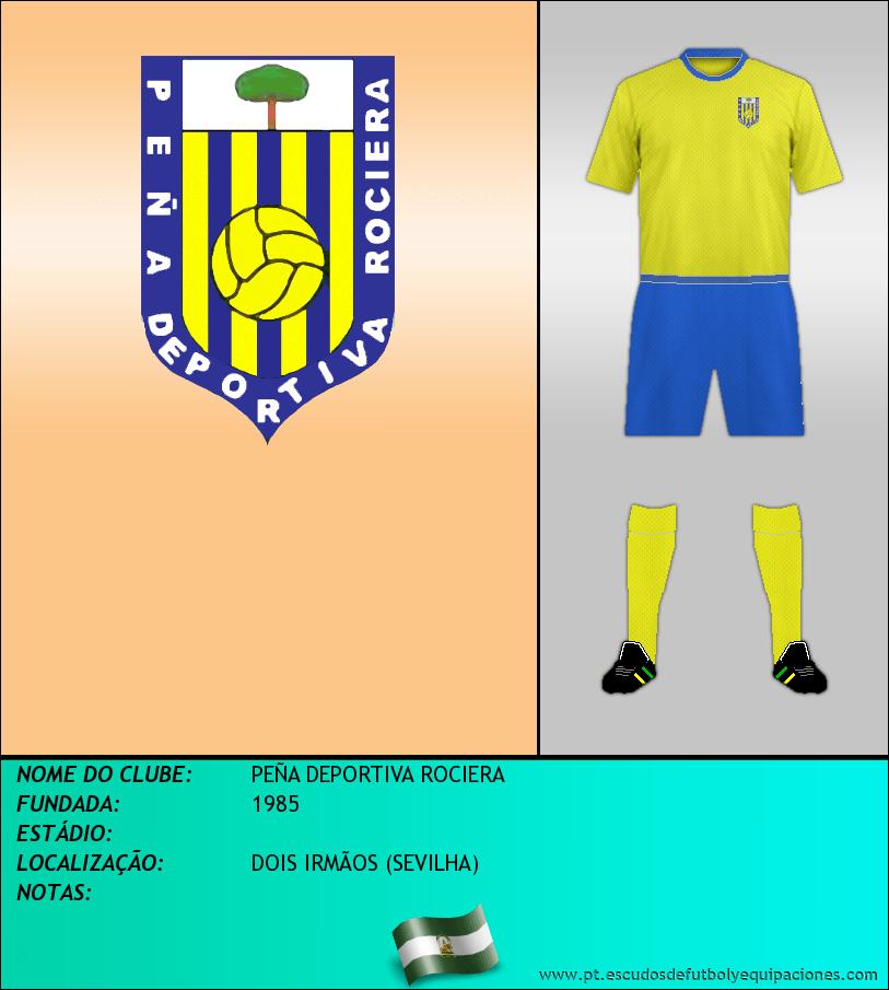 Escudo de PEÑA DEPORTIVA ROCIERA