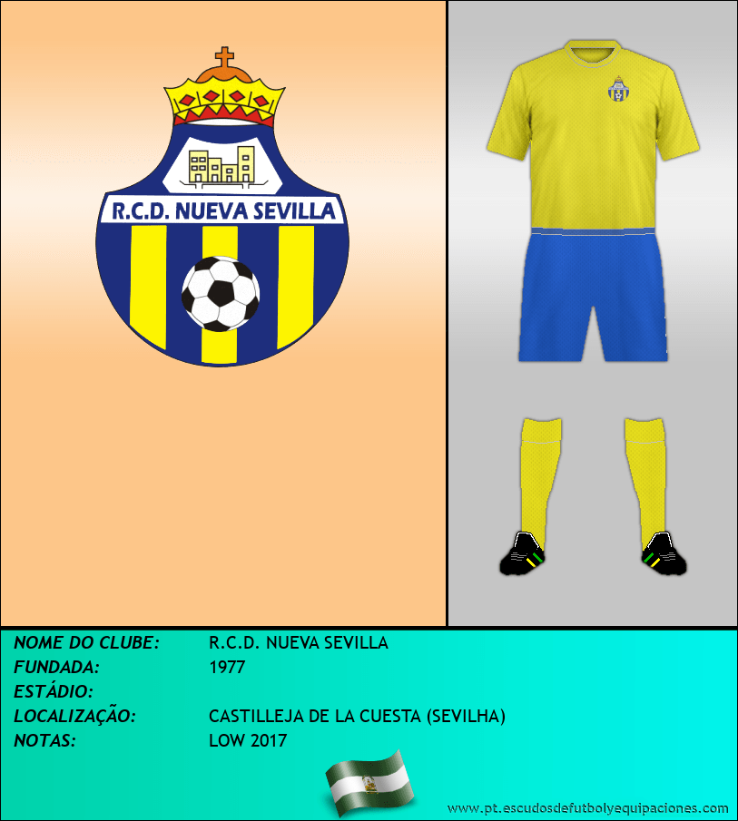 Escudo de R.C.D. NUEVA SEVILLA