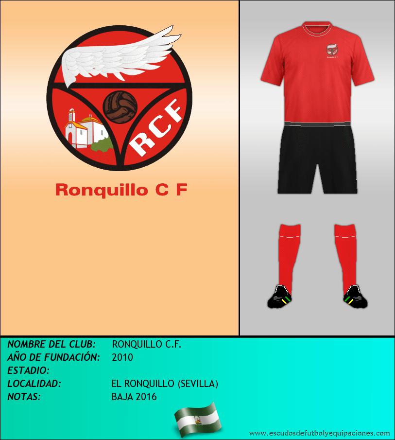 Escudo de RONQUILLO C.F.