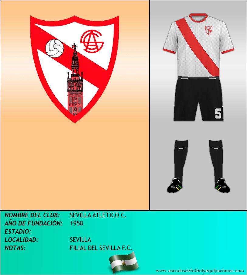 Escudo de SEVILLA ATLETICO C.
