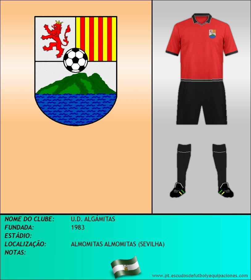 Escudo de U.D. ALGÁMITAS