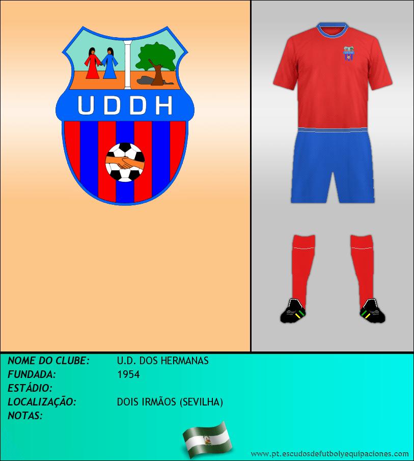 Escudo de U.D. DOS HERMANAS