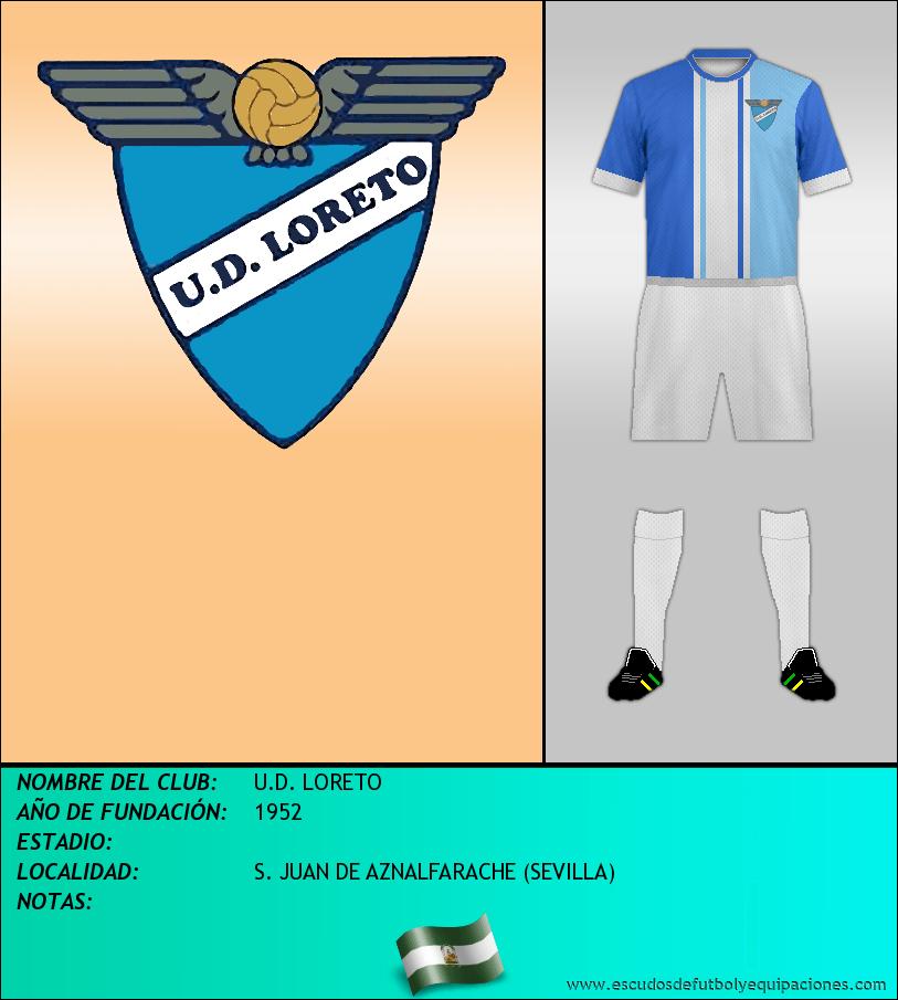 Escudo de U.D. LORETO