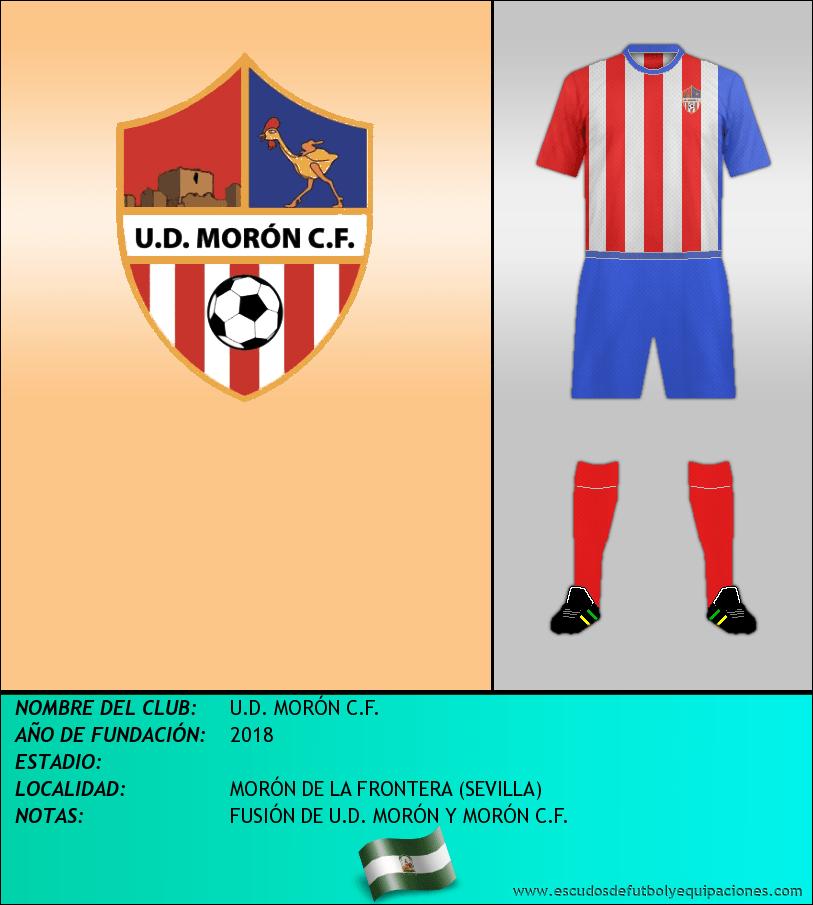 Escudo de U.D. MORÓN C.F.