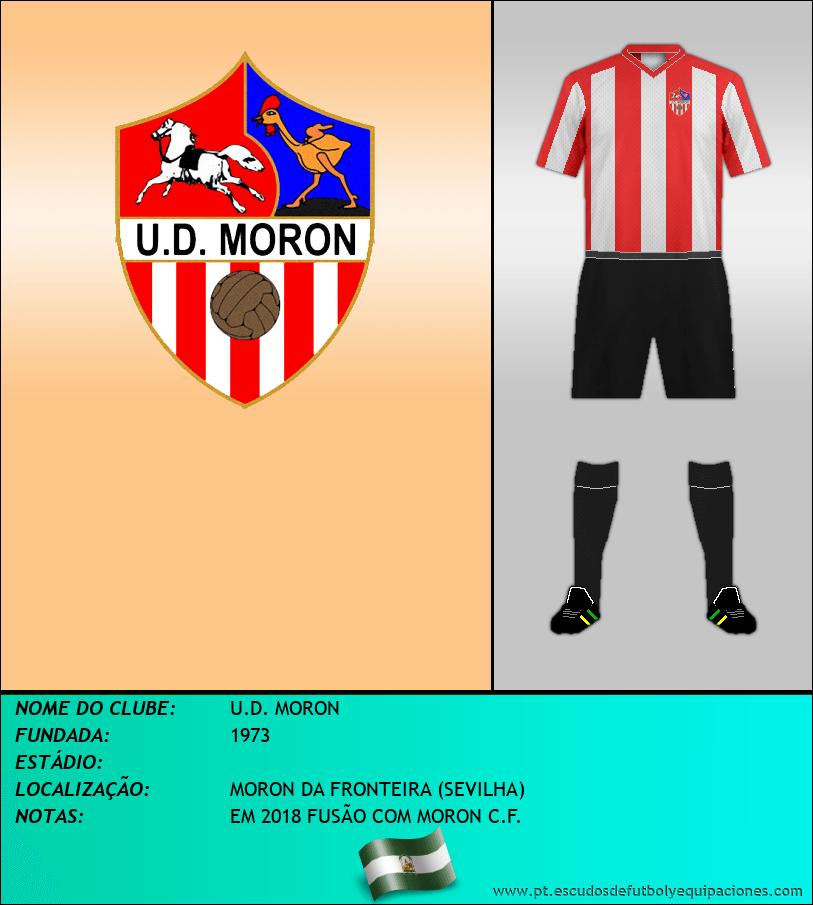 Escudo de U.D. MORON