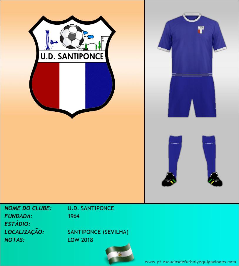 Escudo de U.D. SANTIPONCE