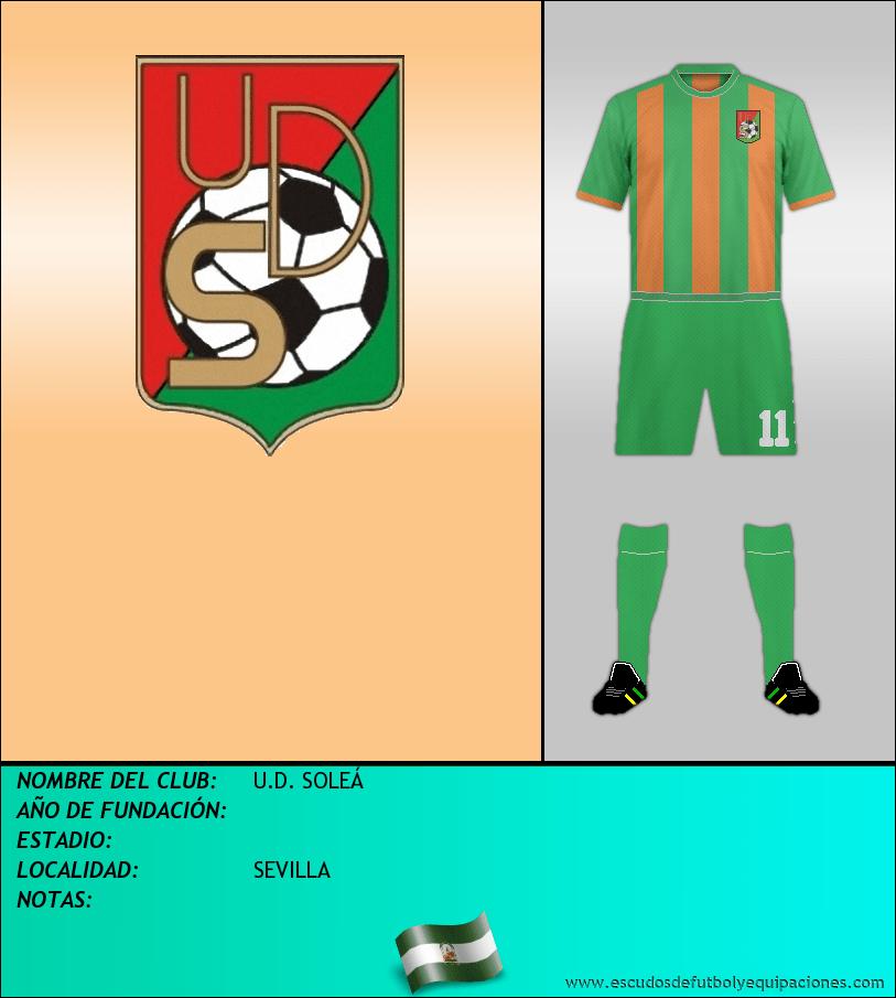 Escudo de U.D. SOLEÁ