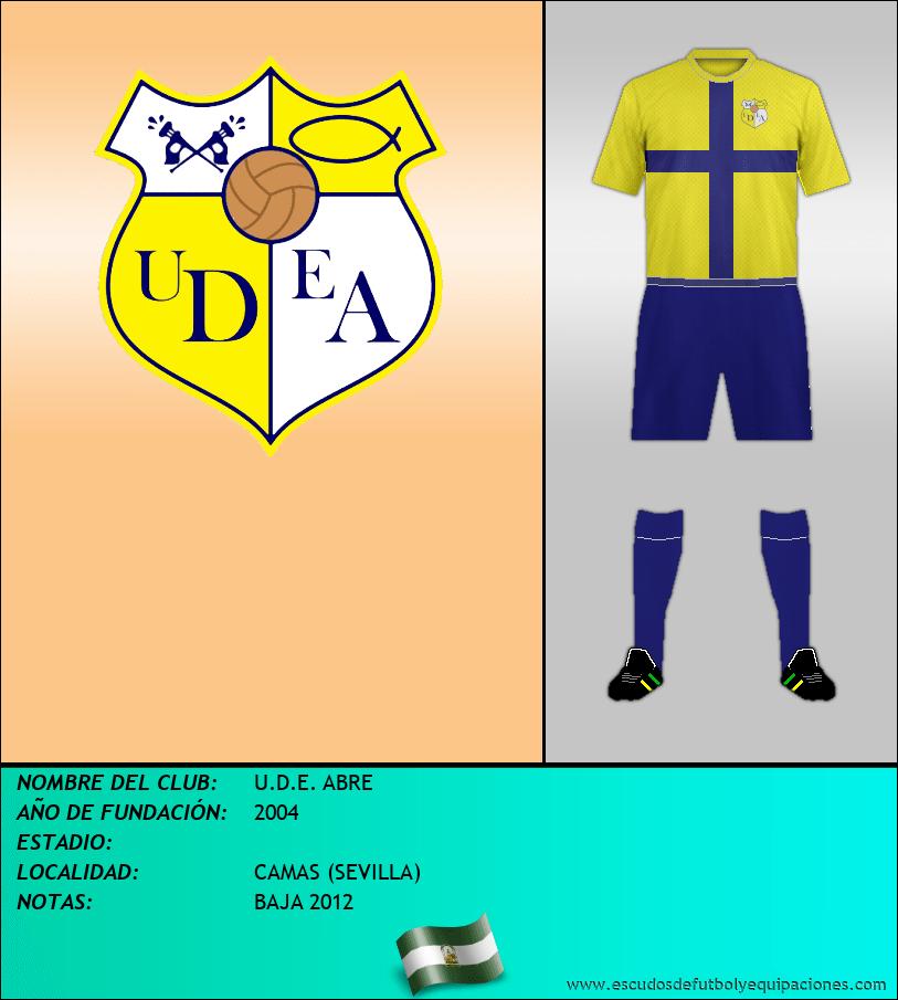 Escudo de U.D.E. ABRE