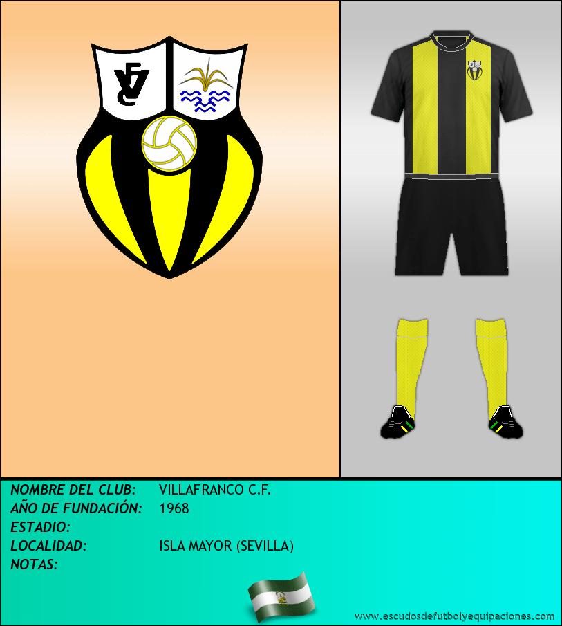 Escudo de VILLAFRANCO C.F.