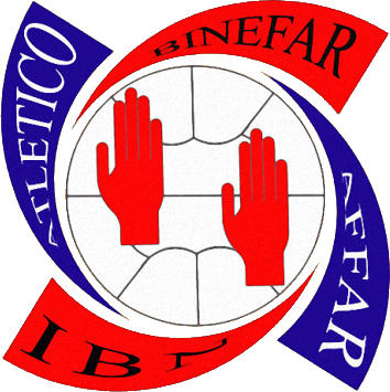 Escudo de A.D. ATLÉTICO BINÉFAR (ARAGÓN)