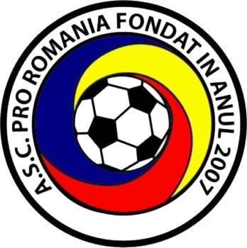 Escudo de A.S.C. PRO ROMANIA (ARAGÓN)