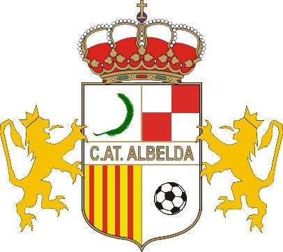 Escudo de C. ATLÉTICO ALBELDA (ARAGÓN)
