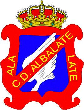 Escudo de C.D. ALBALATE (ARAGÓN)