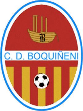 Escudo de C.D. BOQUIÑENI (ARAGÓN)