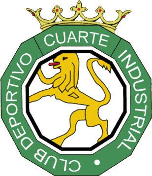Escudo de C.D. CUARTE IND. (ARAGÃO)