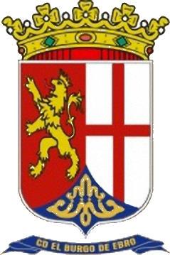 Escudo de C.D. EL BURGO DE EBRO (ARAGÓN)
