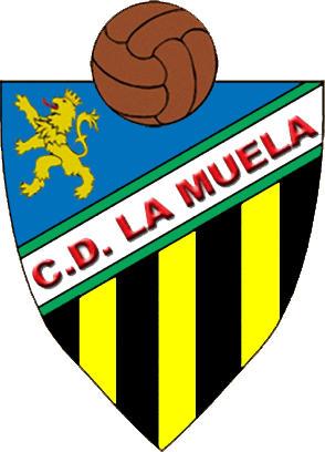 Escudo de C.D. LA MUELA. (ARAGÓN)
