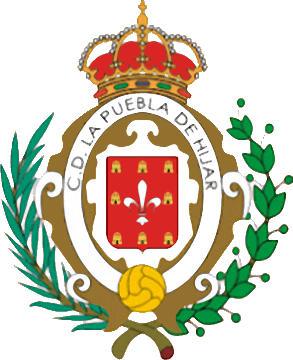 Escudo de C.D. LA PUEBLA DE HÍJAR (ARAGÓN)