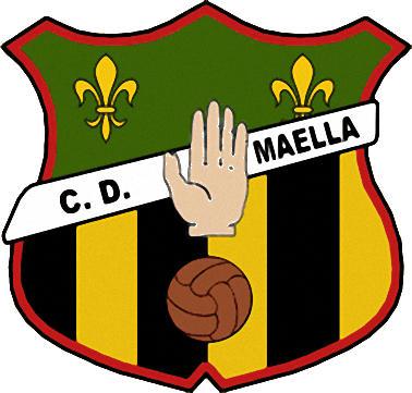 Escudo de C.D. MAELLA (ARAGÓN)