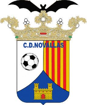 Escudo de C.D. NOVALLAS (ARAGÃO)