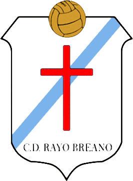 Escudo de C.D. RAYO BREANO (ARAGÓN)