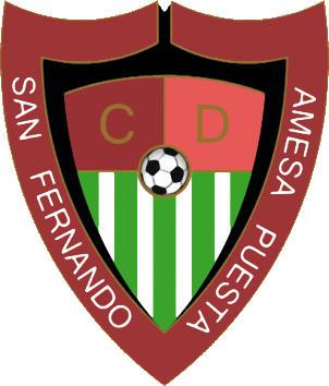 Escudo de C.D. SAN FERNANDO AMESA PUESTA (ARAGÓN)