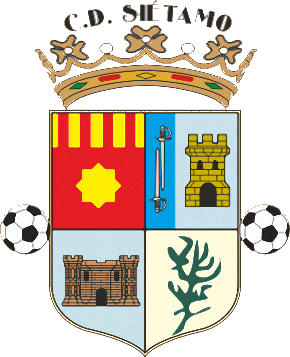 Escudo de C.D. SIÉTAMO (ARAGÓN)
