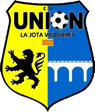 Escudo de C.D. UNIÓN LA JOTA VADORREY (ARAGÓN)