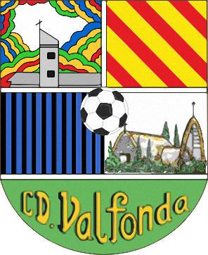 Escudo de C.D. VALFONDA (ARAGÃO)