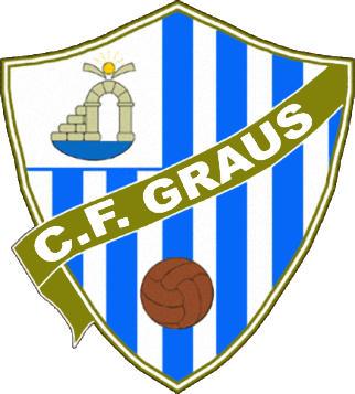Escudo de C.F. GRAUS (ARAGÓN)