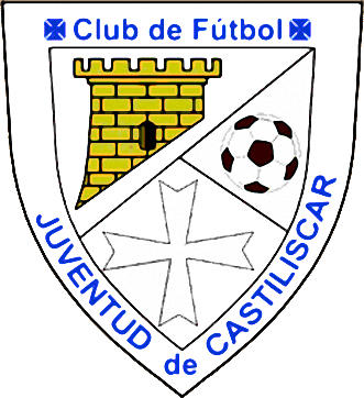 Escudo de C.F. JUVENTUD DE CASTILISCAR (ARAGÓN)