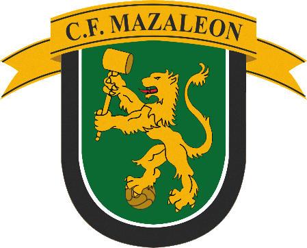 Escudo de C.F. MAZALEÓN (ARAGÓN)
