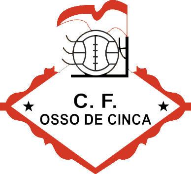 Escudo de C.F. OSSO DE CINCA (ARAGÓN)