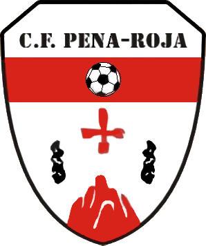 Escudo de C.F. PENA-ROJA (ARAGÓN)