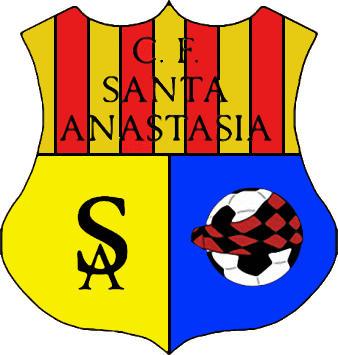 Escudo de C.F. SANTA ANASTASIA (ARAGÓN)